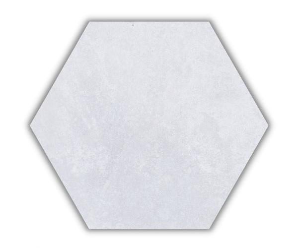 Piso e Revestimento HEXAGONAL CIMENTO SOFT ACETINADO CERAL   23X20cm   *valor da caixa
