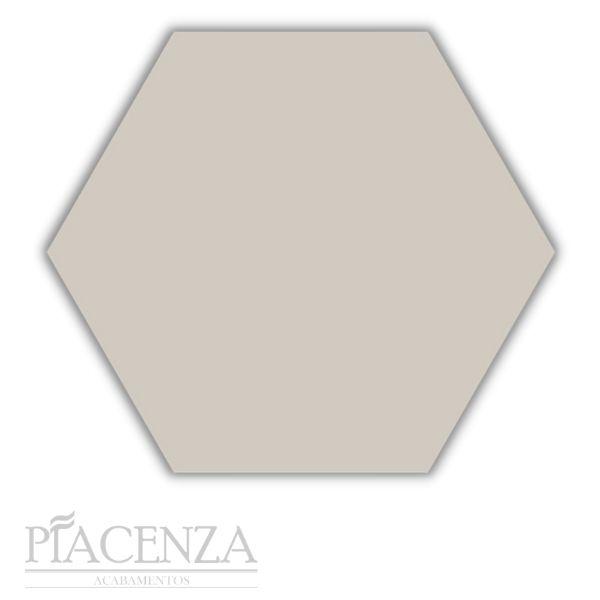 Piso e Revestimento HEXAGONAL MARFIM ACETINADO CERAL | 23X20cm | *valor da caixa