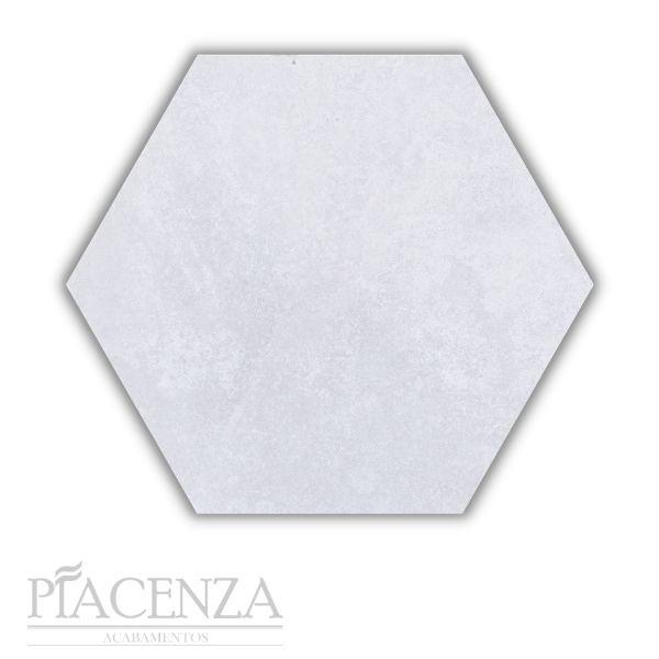 Piso e Revestimento PEÇA HEXAGONAL CIMENTO SOFT ACETINADO CERAL | 23X20cm | *valor da peça