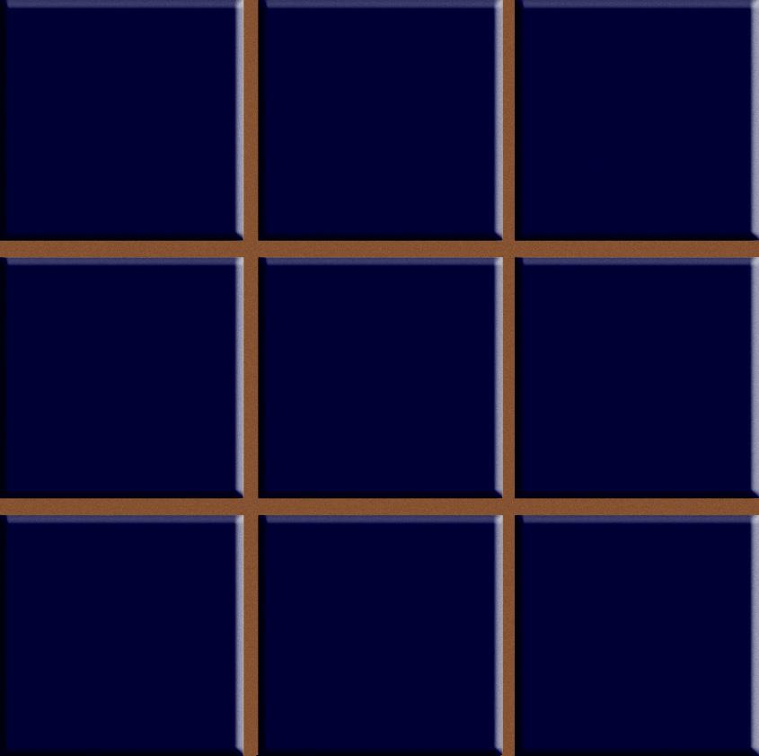 Revestimento Cerâmico AZUL COBALTO CERAL   20,3x20,3cm com pré-corte  *valor por caixa