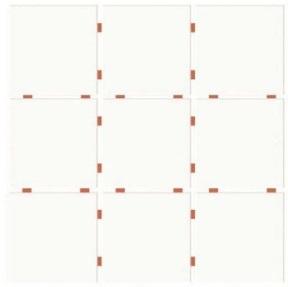Revestimento Cerâmico BRANCO BRILHANTE 10x10cm CERAL | 30,7x30,7cm | *valor por caixa