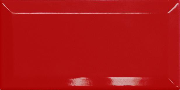 Revestimento Piacenza BISOTADO Vermelho| 10,5x21,5cm | valor caixa 0,91m²