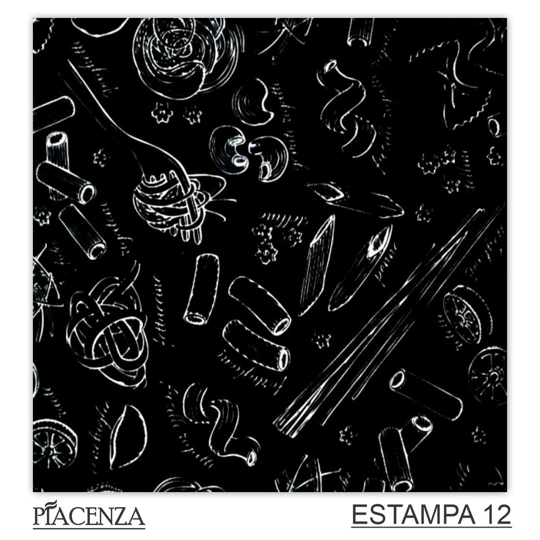 Revestimento Cerâmico  Piacenza COLEÇÃO CUCINA NEGRO   20,5x20,5cm   *valor da peça