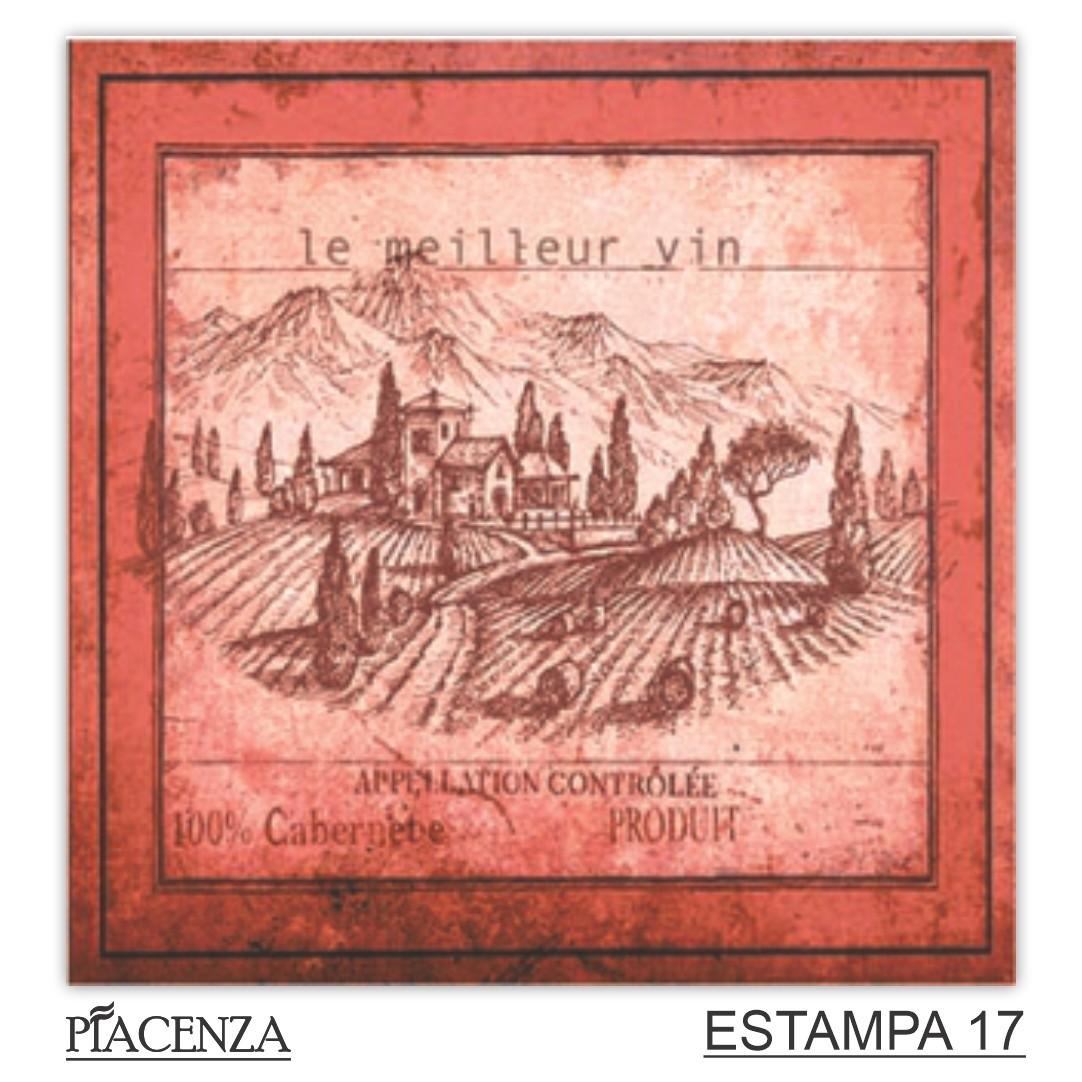 Revestimento Cerâmico Piacenza COLEÇÃO RETRÒ ROTOLO   20,5x20,5cm   *valor da peça