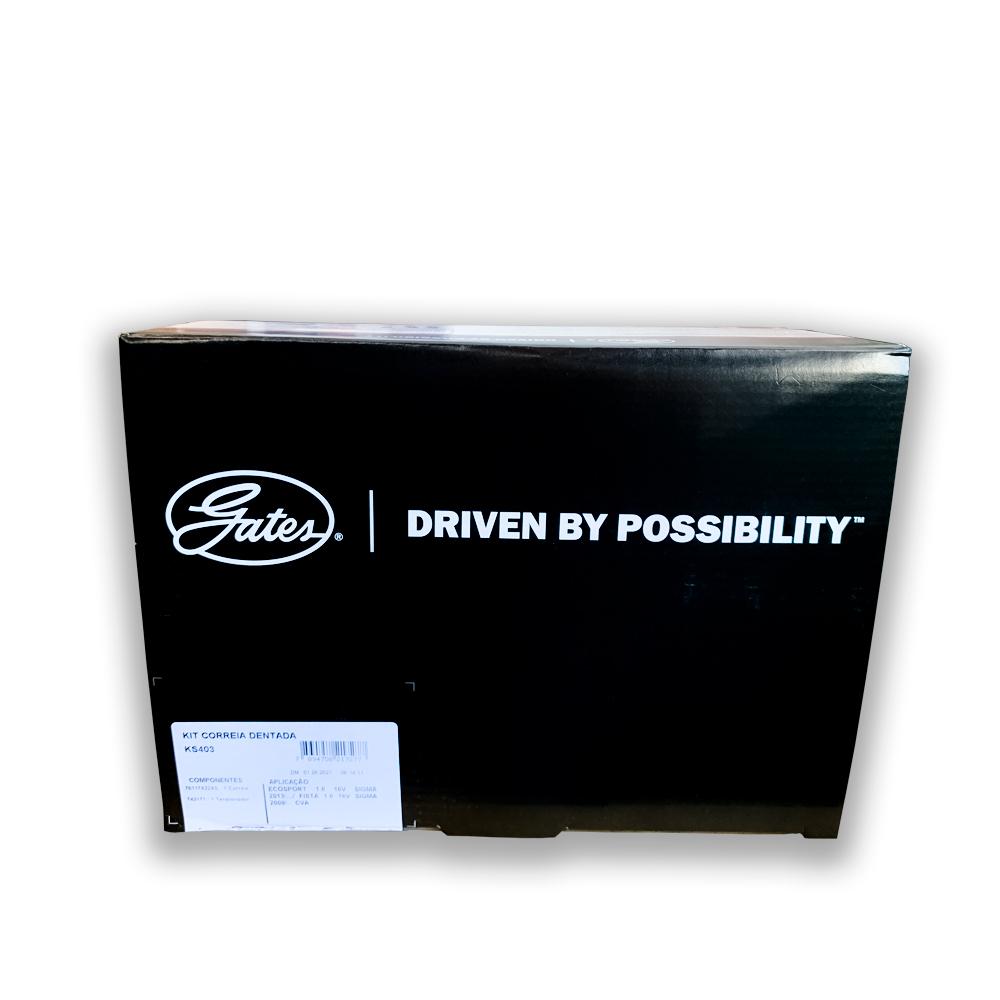 Kit Correia Dentada Ecosport / Fiesta / Focus / Ka / New Fiesta - Gates Ks403