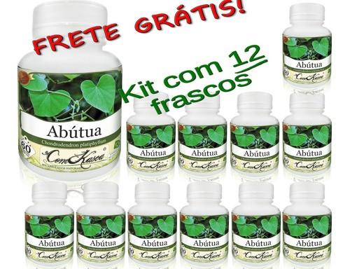 12 Frascos De Abutua Comkasca