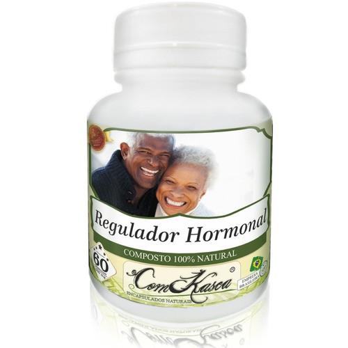 12 Frascos De Regulador Hormonal