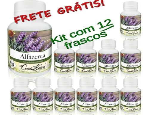 12 Potes De Alfazema (lavandula Angustifolia) Em Cápsulas