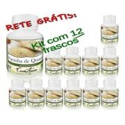 12 Frasco De Farinha De Quinoa ( Chenopodium Quinoa)