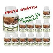 12 Frascos De Cacau Comkasca (100%natural)