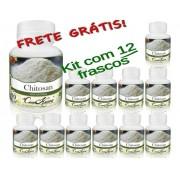 12 Frascos De Chitosana Comkasca ( Emagrecedor )