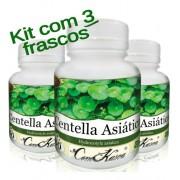 180 Cápsulas De Centella Asiática (melhora O Sono)