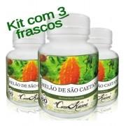 Melão São Caetano - 3 potes com 60 cápsulas