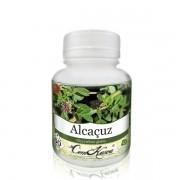 Alcaçuz - 1 pote com 60 cápsulas