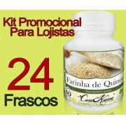 24 Frasco De Farinha De Quinoa (Chenopodium Quinoa)