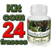 24 Frascos De Açoita Cavalo (luehea Divaricata)