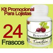 24 Frascos De Beterraba Comkasca ( 100 % Natural )