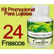 24 Frascos De Ginkgo Biloba