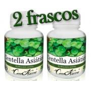 2 Frascos = 120 Cápsulas De Centella Asiática