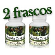 2 Frascos De Açoita Cavalo (luehea Divaricata)