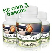 3 Frascos = 180 Cápsulas De Saúde Óssea (bom Para Os Ossos)