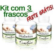 3 Frascos De Antidiabetes 60 Cáps