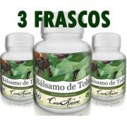 3 Frascos De Bálsamo De Tolu (myroxylon Balsamum)