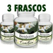 3 Frascos De Benjoim - Inflamação Da Garganta