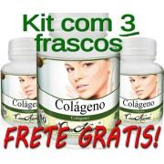 3 Frascos De Colágeno Caps