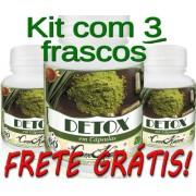 3 Frascos De Detox Natural