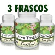 3 Frascos De Erva Tostão - Problemas De Fígado