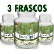 3 Frascos De Eucalipto - Calmante Natural
