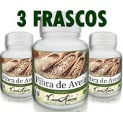 3 Frascos De Fibra De Aveia - Diminui O Colesterol