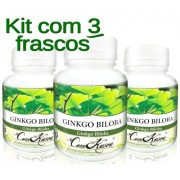 3 Frascos De Ginkgo Biloba