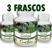 3 Frascos De Guiné - Combate Falta De Memória