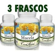 3 Frascos De Macela - Cólicas Intestinais