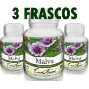 3 Frascos De Malva - Ação Anti-inflamatória