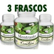 3 Frascos De Mentrasto - Alivia Sintomas Da Tpm