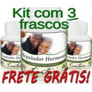 3 Frascos De Regulador Hormonal