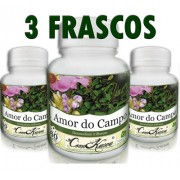 3 Potes De Planta Amor Do Campo 60 Capsulas