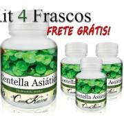 4 Frascos De Centella Asiática - 240 Cápsulas