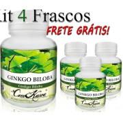 4 Frascos De Ginkgo Biloba