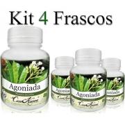 Agoniada - 4 potes com 60 cápsulas