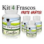 4 Potes De Anti Depressivo Em Cápsulas
