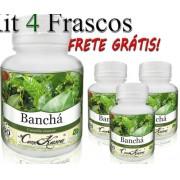 4 Potes De Banchá (thea Sinensis) Em Cápsulas