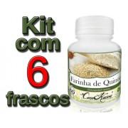 6 Frasco De Farinha De Quinoa ( Chenopodium Quinoa )
