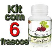 6 Frascos De Beterraba Comkasca ( 100 % Natural )