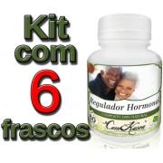 6 Frascos De Regulador Hormonal