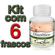 6 Frascos Diurético Comkasca (diminui Inchaço)