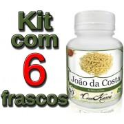 6 Frascos João Da Costa (previne Artrites,cólica E Dores)